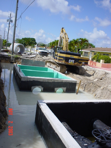 Construction of Sewage Collection Systems