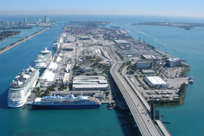 Cruise Terminal in Miami